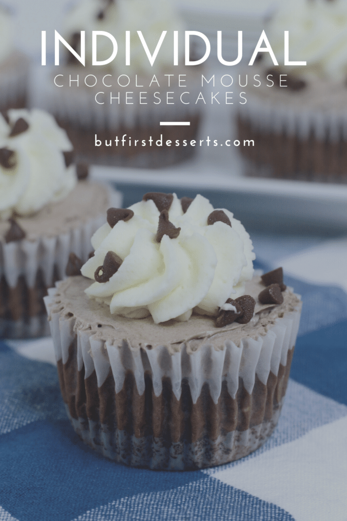 Chocolate Mousse Cheesecakes