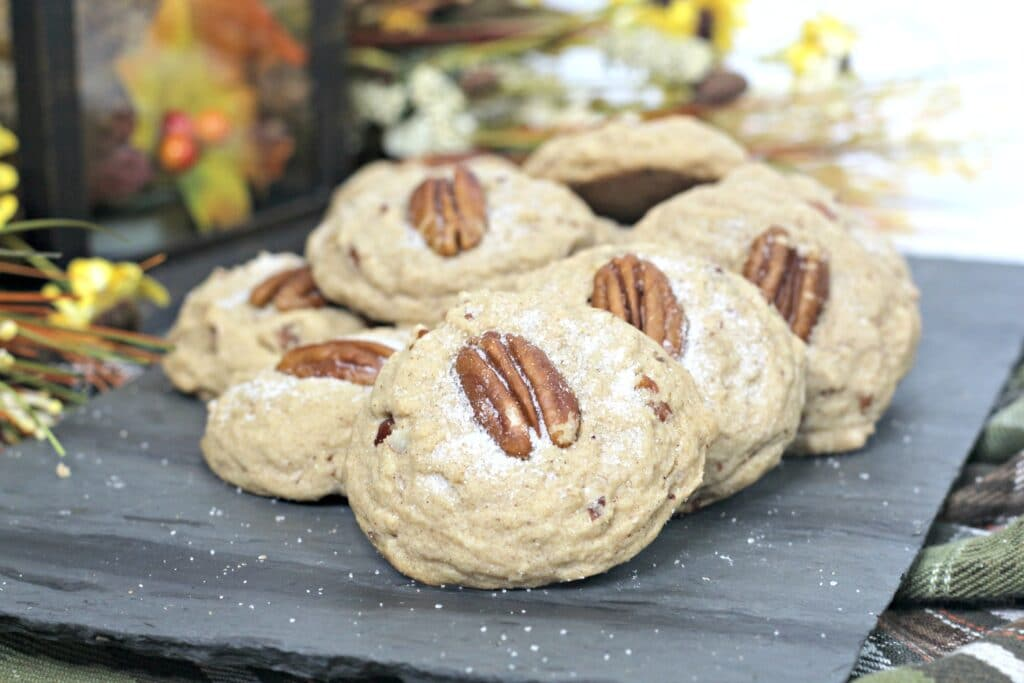 Browned Butter Pecan Cookies