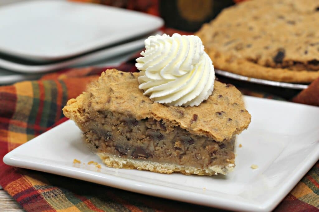 Pumpkin Spice Bourbon Pie