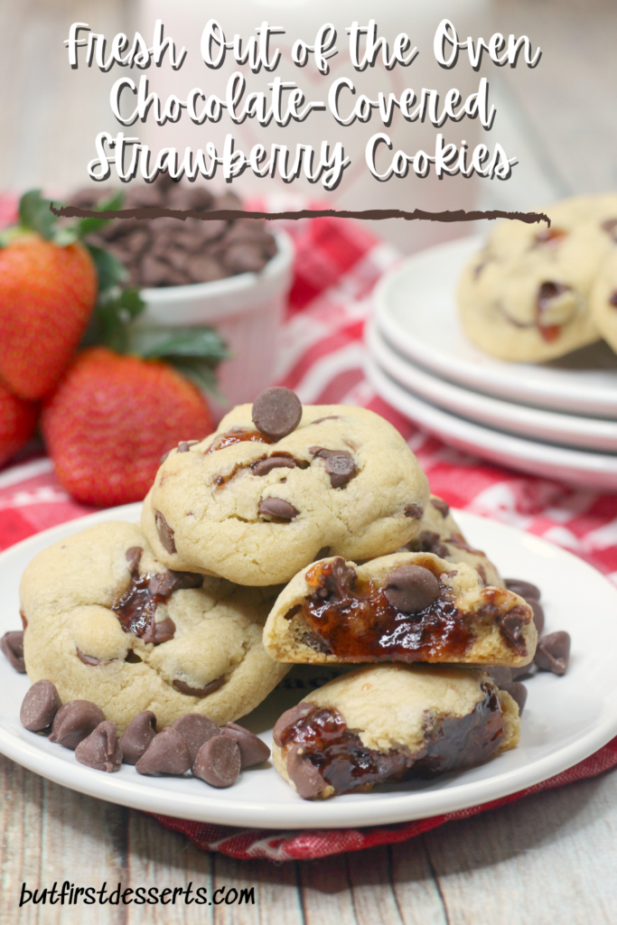 Chocolate-Covered Strawberry Cookies